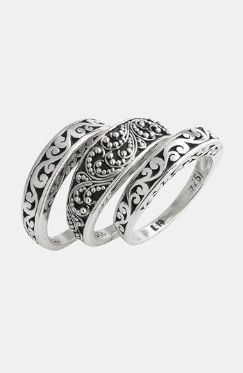 Lois Hill 'Classics' Stackable Rings (Set of 3)