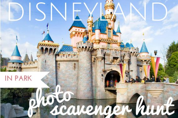 Disneyland Photo Scavenger Hunt Disney Parks Touring Tips Pinterest Park Disneyland 2017