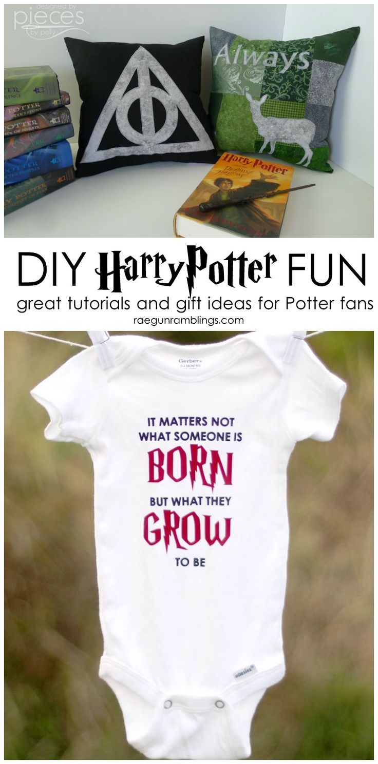 Awesome DIY harry potter creations and gift ideas