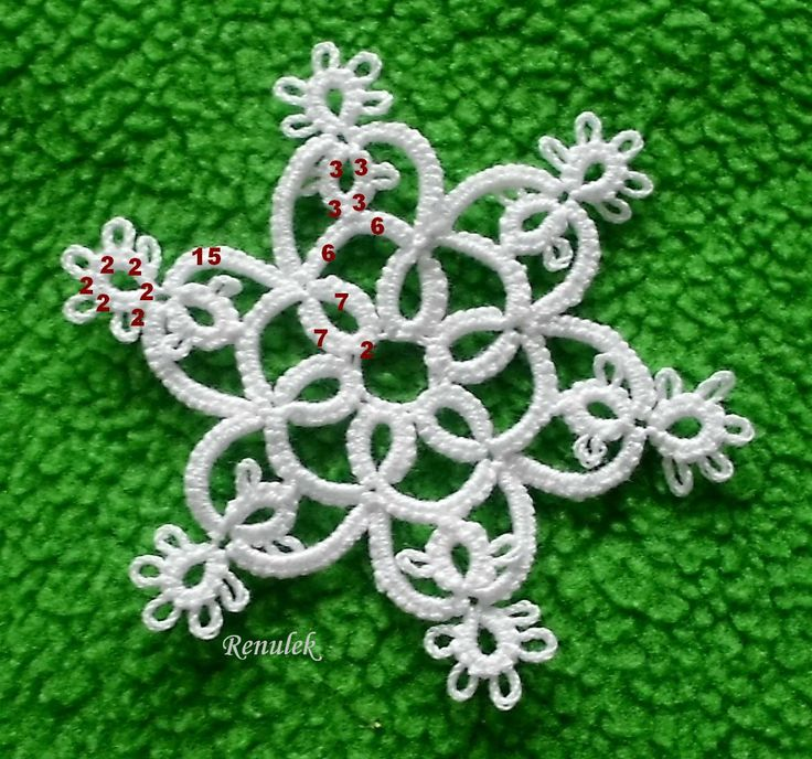 Sweet snowflake (try as star?)
