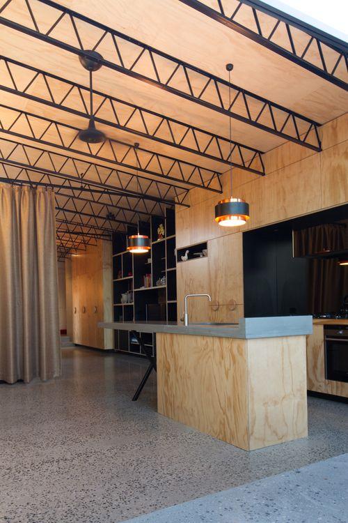 open ceiling ideas with rafters - Best 25 Steel Trusses ideas on Pinterest