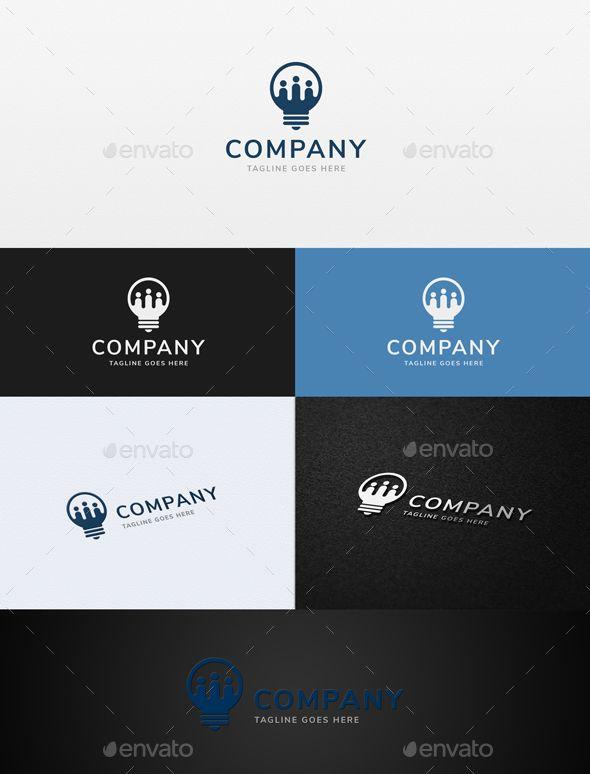 Team Idea Logo - Humans Logo Templates Logo Pinterest Logo