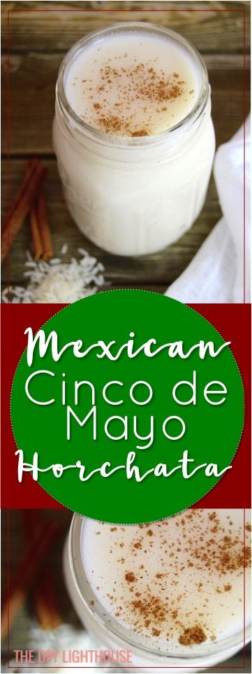 Mexican horchata drink recipe | Cinco de Mayo party food ideas | Perfect party drink that is like a dessert in a cup | Sweet rice milk horchata drink for Cinco de Mayo coming up!