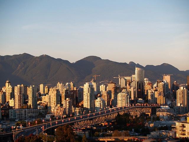 Vancouver skyline, October 2006