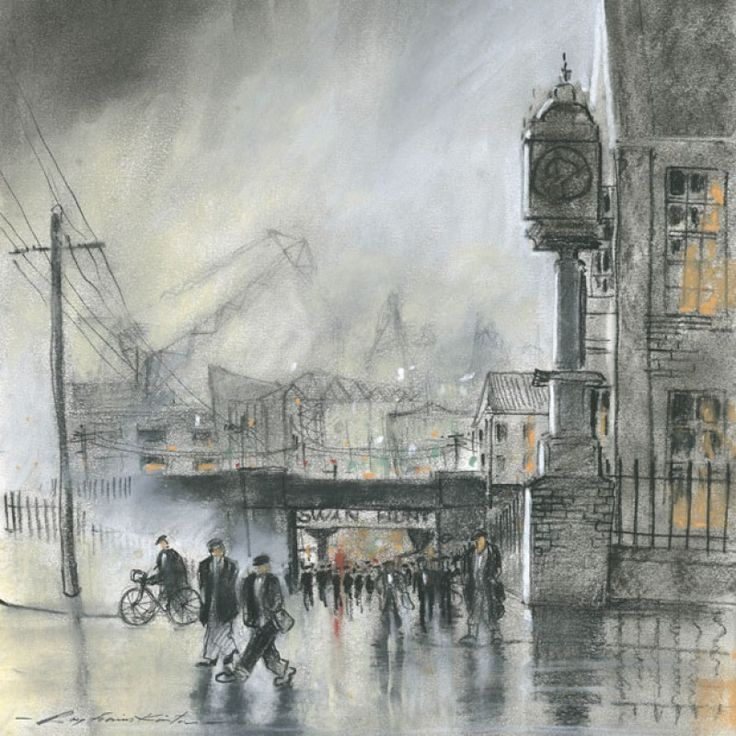 Swan Bank 1 signed limited edition print by Roy Francis Kirton