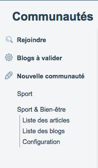 Les communautés – Suggestions et entraide des utilisateurs d'Overblog