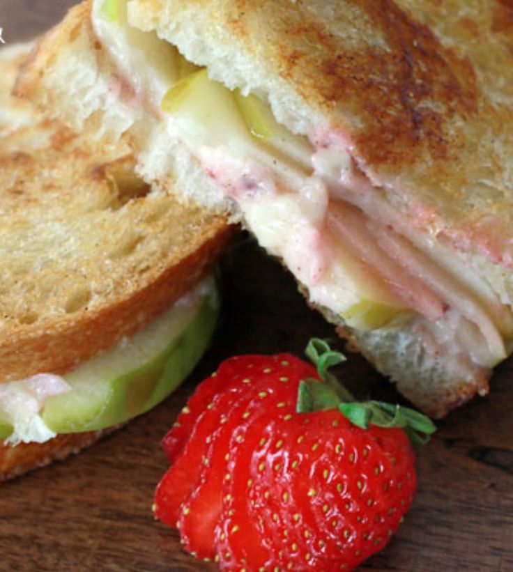 Turn your grilled cheese up a notch with salty, sweet Gruyere cheese ...