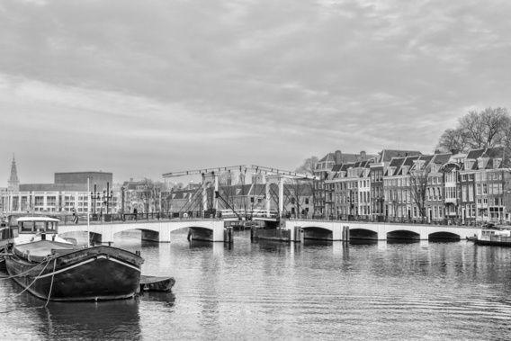 De Magere Brug in Amsterdam (2)