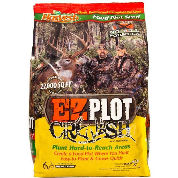 Evolved harvest ez plot crush food plot seed food plot