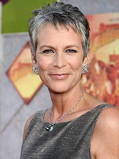 Jamie Lee Curtis, Grey hair and warm skin tone mean that Jamie Lee Curtis is best in the Soft pallet.