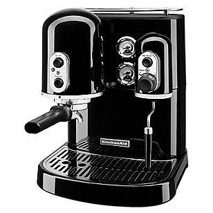 Cafetera Manual Espresso Negra