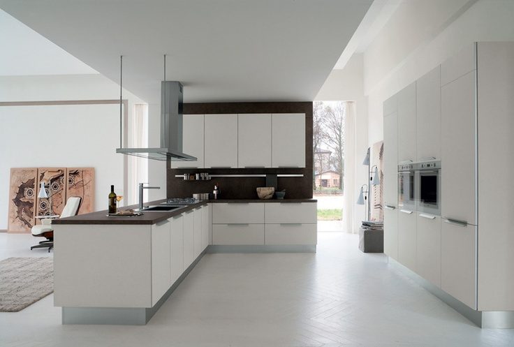 Clean white lines with #contemporary #design.