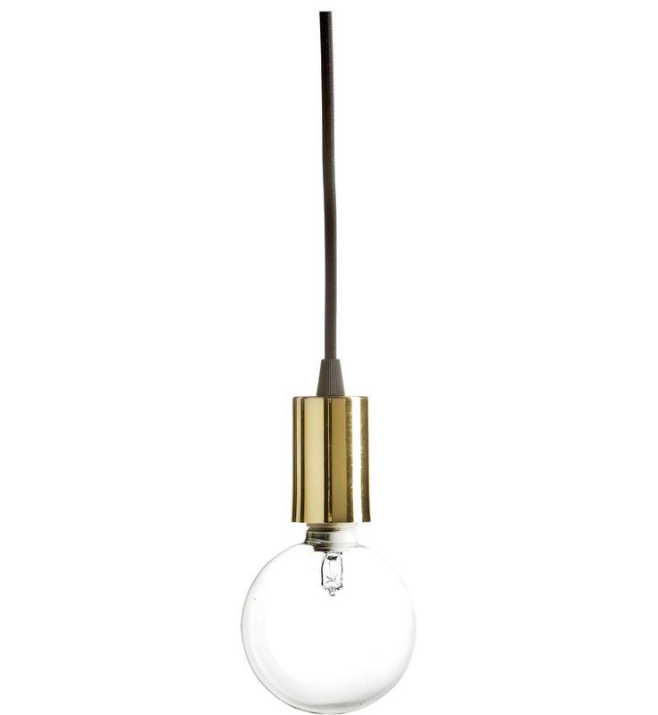 brass lamp @ åhlens