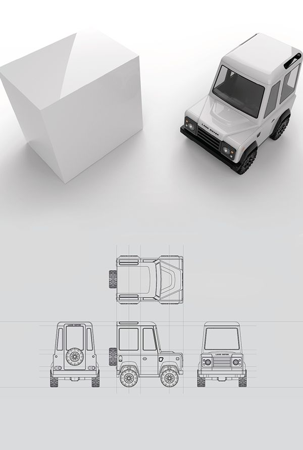 Box on Wheels by Scott Schenone | Abduzeedo Design Inspiration