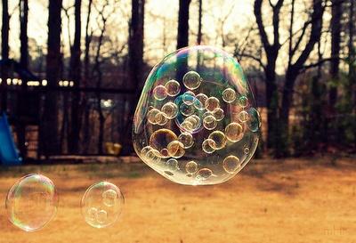 bubbles and bubbles