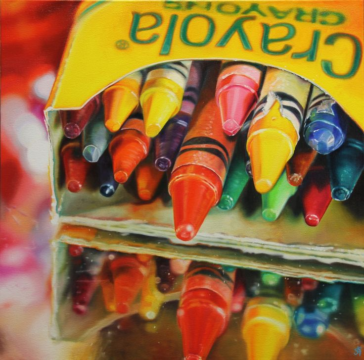 Sarah Graham - English / Hitchin (born 1977) (crayons)