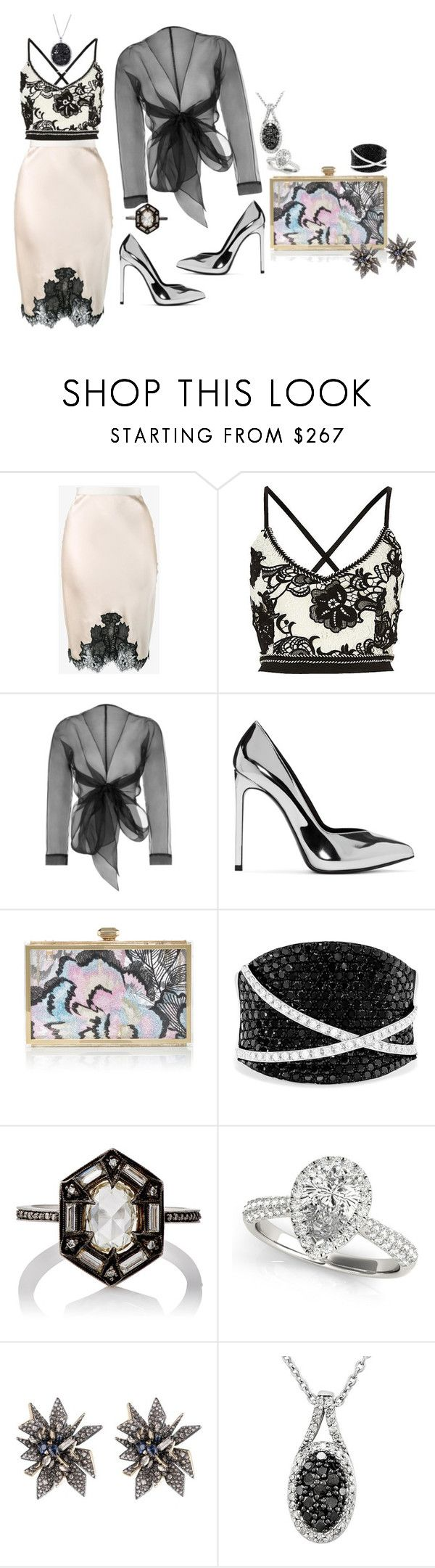 """""""I love it when he shows me off to his friends"""" by blujay1126 ❤ liked on Polyvore featuring Helmut Lang, Bianca Elgar, Yves Saint Laurent, Elie Saab, Effy Jewelry, Cathy Waterman, Allurez and Alexis Bittar"""