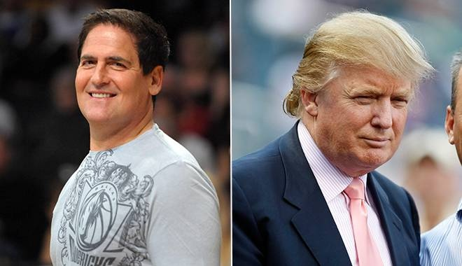 Dallas Mavericks owner, Mark Cuban, offers to donate $1 million to charity of Donald Trump's choice if the reality TV star shaves his head. (US PRESSWIRE)