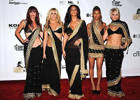 Jessica Sutta, Ashley Roberts, Nicole Scherzinger, Melody Thornton and Kimberly Wyatt of The Pussycat Dolls attends the Conde Nast Media Group's Fifth Annual Fashion Rocks at Radio City Music Hall on September 5, 2008 in New York City.
