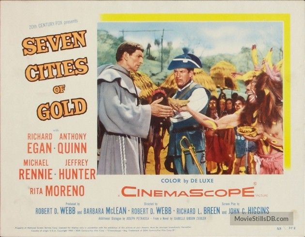 Seven Cities of Gold - Lobby card