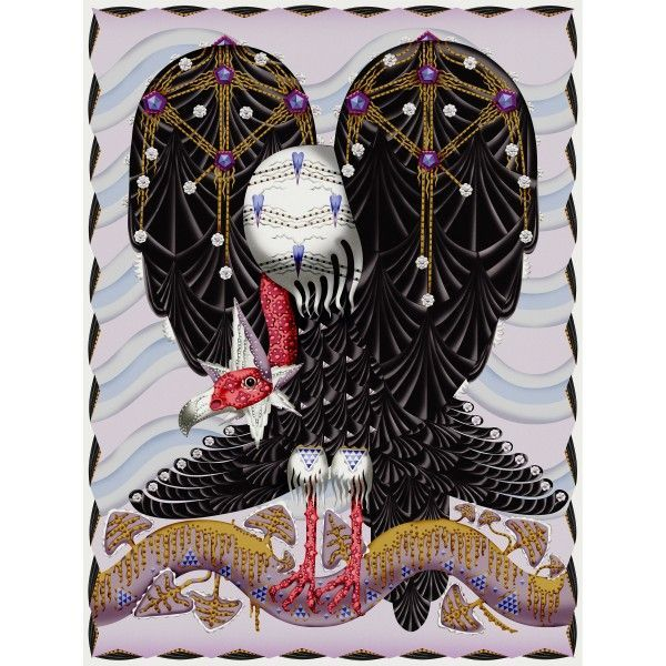 Moooi Carpets Vulture vloerkleed 300x400. Neem rust, kijk goed, en neem de mythische complexiteit van dit kleed in je op! @moooicarpets #MoooiCarpets #vloerkleed #vloerkleden #design #Flinders