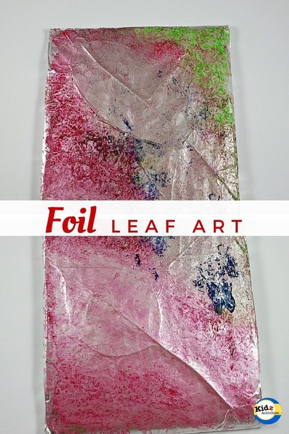 Foil Leaf Art - Kidz Activities