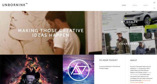 View the live website design