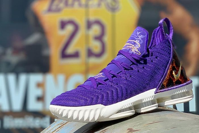 4988737eae7 Nike Release Exclusive  Court Purple  LeBron 16 in LA