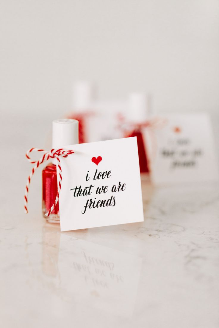 Valentine's Day Party Favor Idea