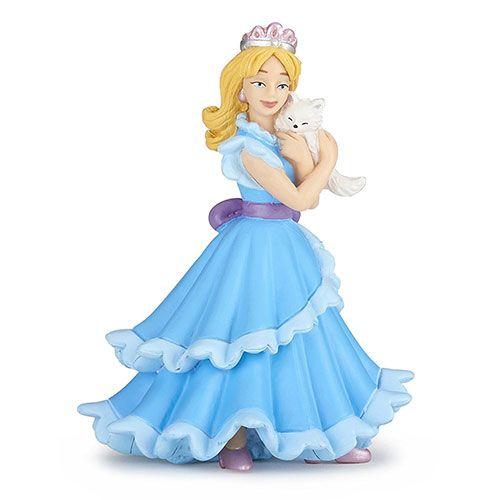 Papo Φιγούρα Μπλε Πριγκίπισσα με Γάτα    #papo_figures #παπο #figura #φιγουρα #φιγούρα #φιγούρες #φιγουρες #Μινιατούρες_Papo #papo_greece #papo_toys_greece #μινιατούρες #papo