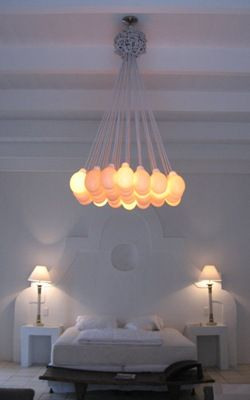 Ostrich Egg Chandelier By Global Orbs