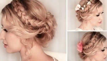 Latest Updo Hairstyles for Short, Medium & Long Hair 2018-2019