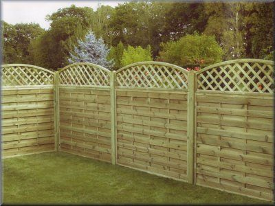 83 best fencing ideas images on pinterest privacy fences for Garden decking jewsons