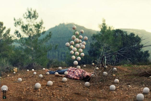 Photographer turns dreams into surreal photos