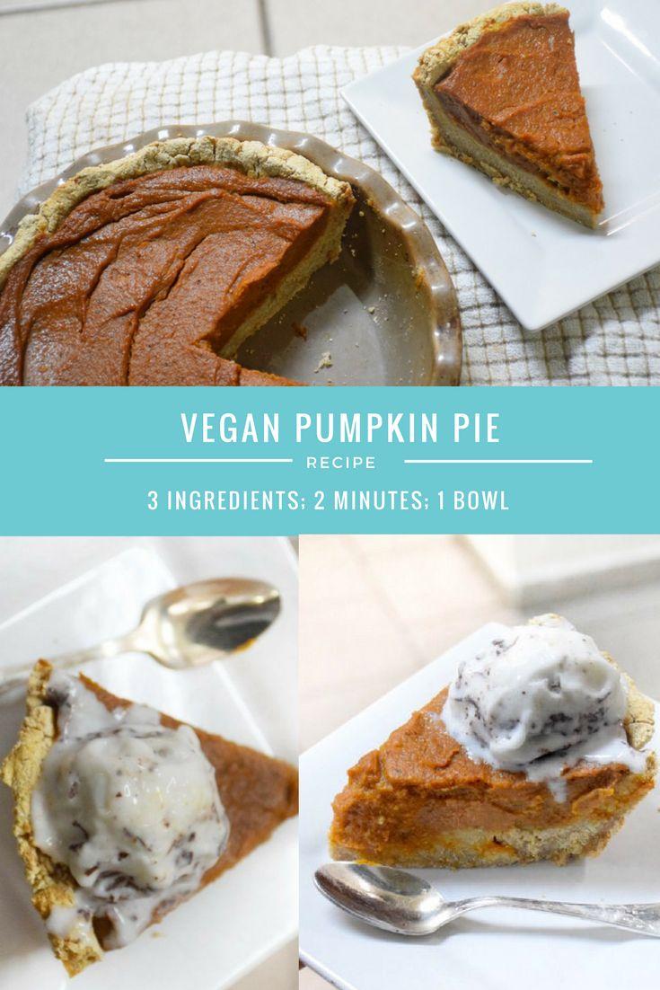 gluten free vegan pumpkin pie sugar free WSLF