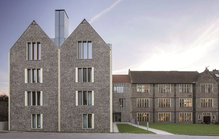Brighton College Boarding House by Allies and Morrison