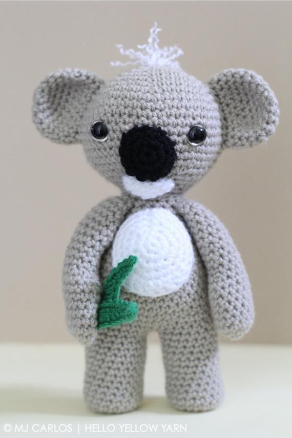 Koala mother and baby, amigurumi crochet pattern - YouTube   855x570
