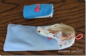 Barbie sleeping bag
