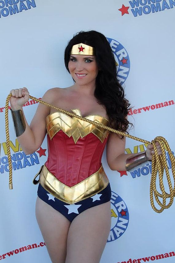 Cheap Wonder Woman Corset Costume