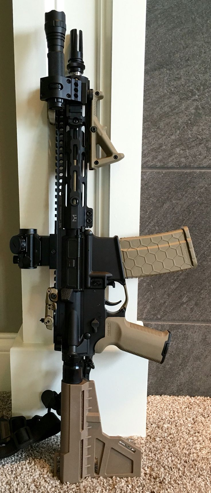 """AR-15 Pistol Chambered in 300 AAC Blackout. 10.5"""" Barrel."""
