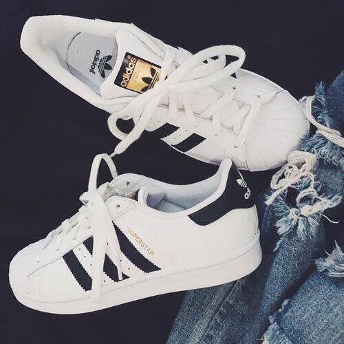 adidas originals superstar high top white trainers