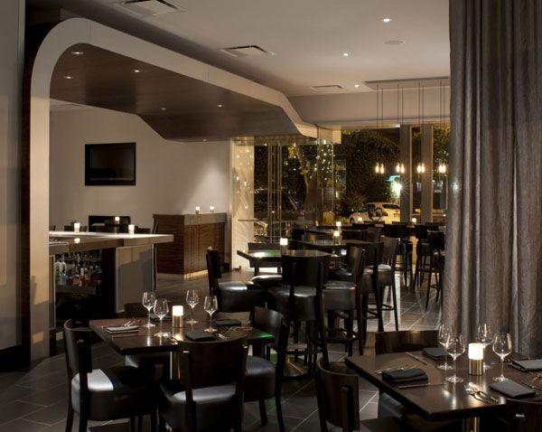 from arcsine architecture and bellusci design comes the stylish vesu restaurant located in walnut creek - Restaurant Dining Room Design
