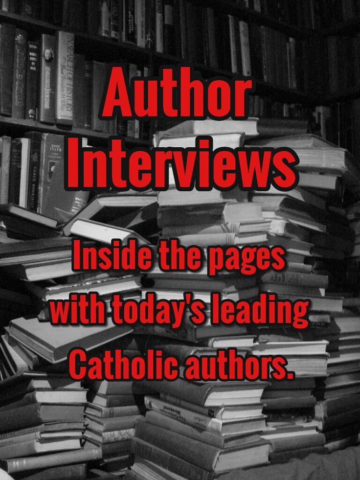 Interviews Image - Catholic Book Blogger