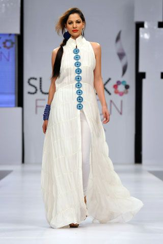 Zainab Sajid at PFDC Sunsilk Fashion Week 2012 Karachi Day 2