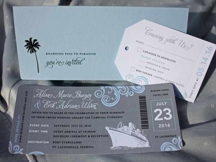 Cruise Wedding Invitations: 15+ Best Ideas About Cruise Ship Wedding On Pinterest