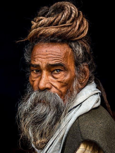stories-yet-to-be-written:  Portrait of a Sadhu by Rakesh JV on Flickr.