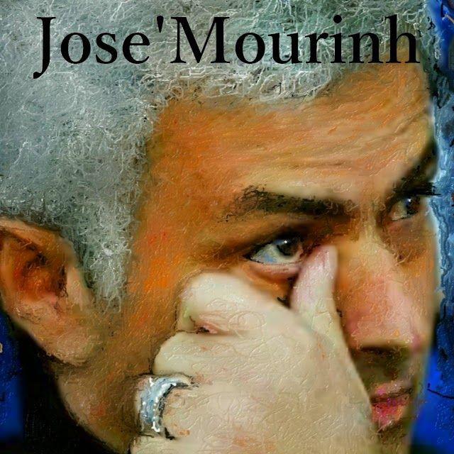 José Mourinh ジョゼ・モウリーニョをお絵描きしました、彼こそが最高のサッカー監督だと思います。  the rose 日本語訳 http://youtu.be/m2wv3FrVBZc