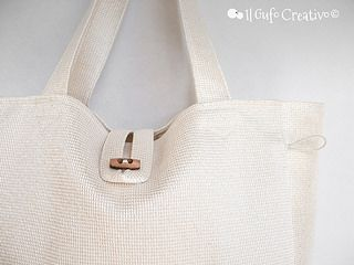 White multi bag - Il Gufo Creativo | Flickr - Photo Sharing!