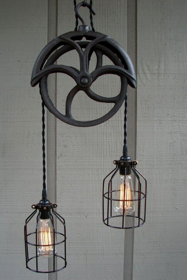 50 Creative Industrial Style Lighting Fixture Projects To Nail