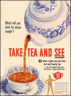 vintage british tea posters - Google Search